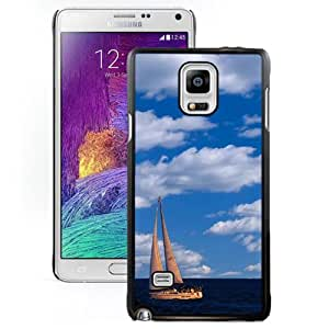 Chicago Yacht Hard Plastic Samsung Galaxy Note 4 Protective Phone Case