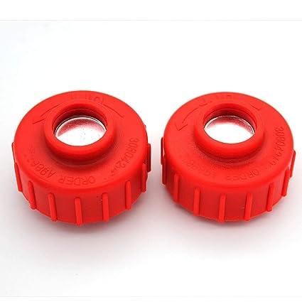 P SeekPro 2 Pack Spool Bump Knob for Ryobi Homelite Toro Greenmachine String Trimmer P/N# 308042003 099068001002 99068801002 UT15522D-03 UP100104 ...