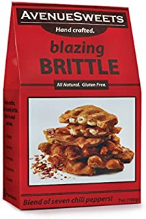 product image for AvenueSweets - Handcrafted Old Fashioned Nut Brittle - 7 oz Box - Spicy