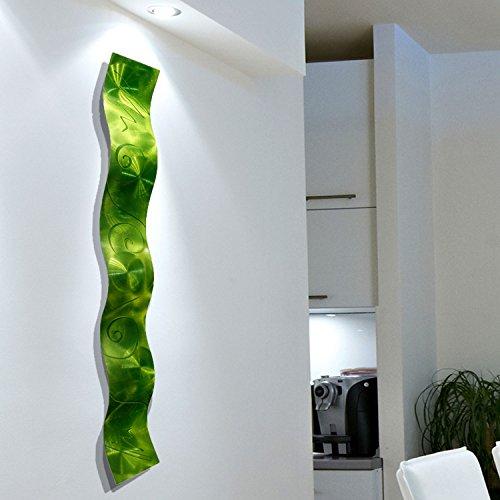 Green Metal Wall - 6