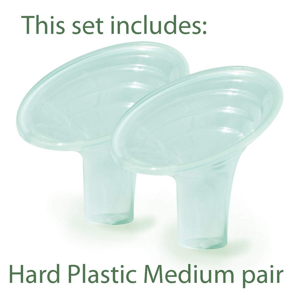with Mesh Bag Compatible with//Replacement for All Medela S, M, L Lansinoh and Hygeia Pumps Pumpin Pal Medium Set