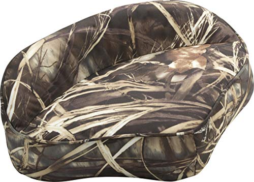 Attwood 98505CA Casting Fishing Boat Seat, Camouflage Vinyl Finish