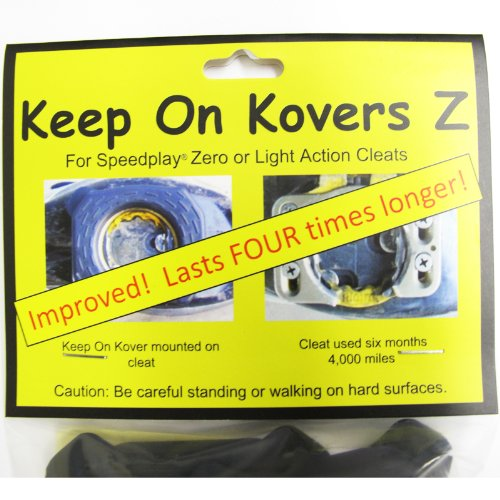 Keep On Kovers Z for Speedplay Zero or Light Action Cleats Cover - Long Lasting