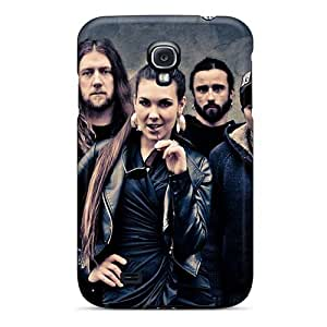 Durable Hard Cell-phone Case For Samsung Galaxy S4 With Customized High-definition Rise Against Series Top10cases