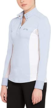Equine Couture Ladies Cara Long Sleeve Show Shirt