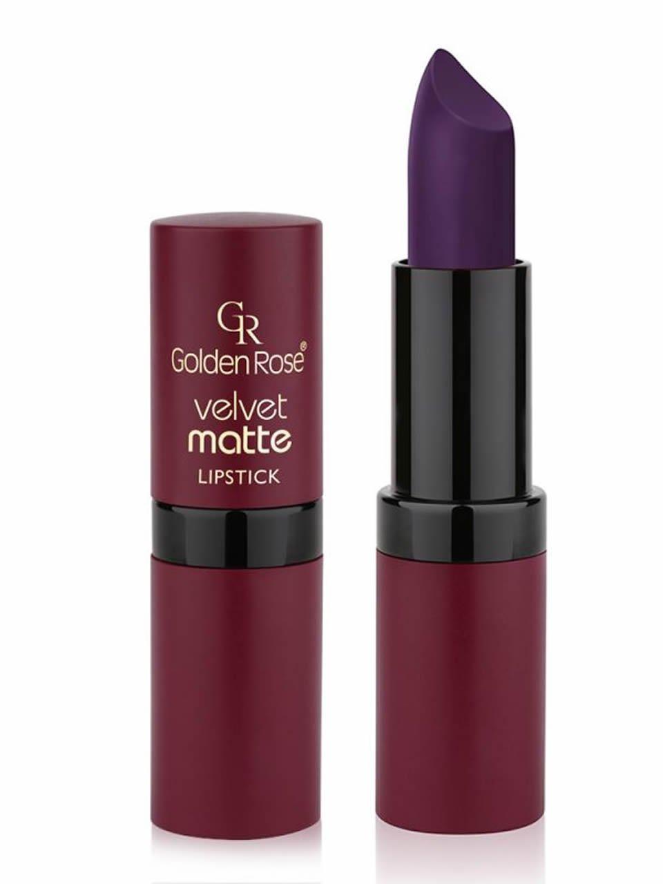 Amazon.com : Golden Rose Velvet Matte Lipstick Dark Colors Set of ...