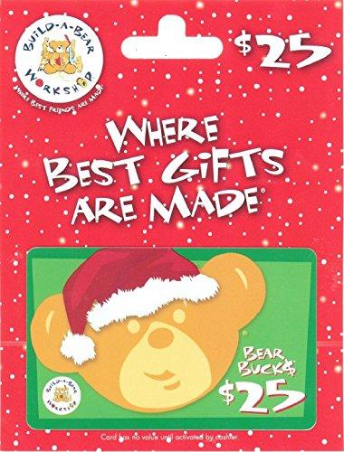 (Build-A-Bear Holiday $25 Gift Card)