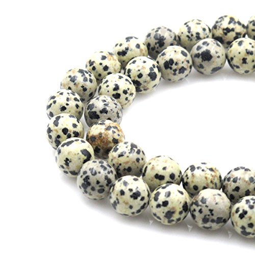 BRCbeads Gorgeous Natural Dalmatian Jasp - Gemstone Jasper Necklace Shopping Results