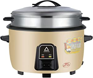 Commercial electric rice cooker non-stick inner liner, anti-drying, large capacity rice cooker cookware, small household appliances, suitable for 8 to 70 people in canteens, hospitals, schools, factor