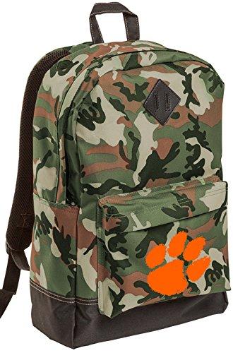 Broad Bay Clemson University CAMO Backpack Medium Clemson Tigers Backpacks