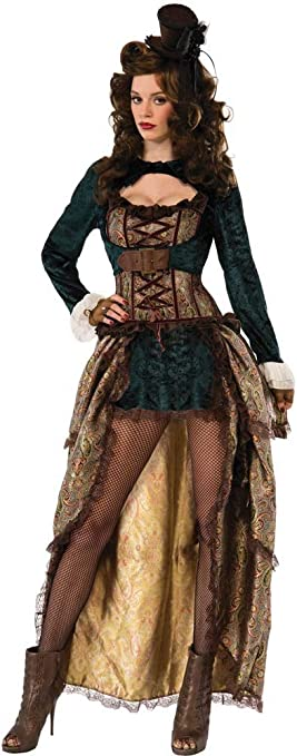 Forum Novelties 75015 - Disfraz de Madame Steampunk (UK 10-12 ...