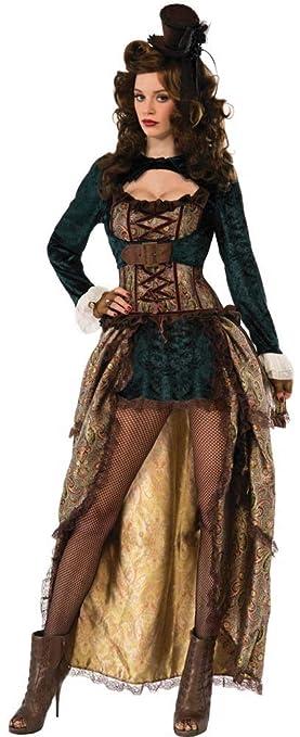 Forum Novelties 75015 - Disfraz de Madame Steampunk (UK 10-12 ...