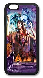 For SamSung Galaxy S5 Case Cover For SamSung Galaxy S5 Case Cover -Spirit Maiden Native American Hard shell pc Soft Case Back For SamSung Galaxy S5 Case Cover Black