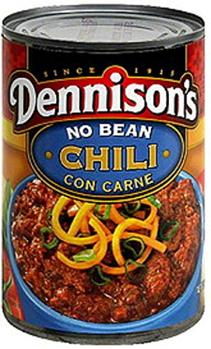 Dennison's, Chili Con Carne, No Bean, 15oz Can (Pack of 6) (Best Chili Without Beans)