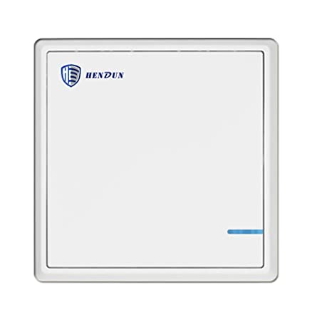 HENDUN Extra Light Switch for Wireless Receiver No Wiring No WiFi (separate on
