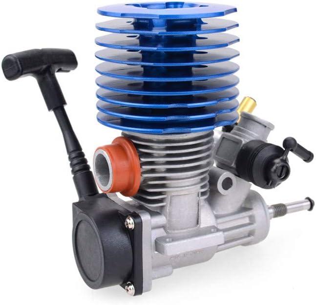 elegantstunning PT2502B .25 Motore di avviamento a tiraggio Posteriore Scarico 1//8 Buggy Engine