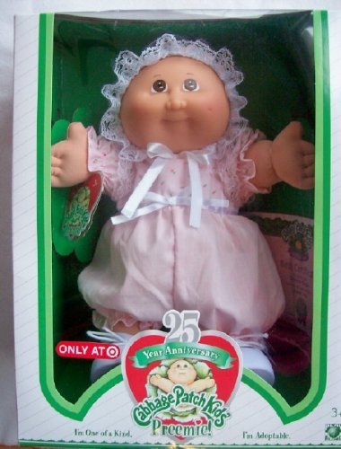 Exclusive Cabbage Patch Kids 25th Anniversary PREEMIE, used for sale  Delivered anywhere in USA