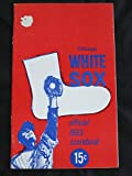 1963 White Sox Program vs Twins (36 pg) Unscored w/Lineups Written in Pen Very Good to Excellent [Sl area of paper loss on cover, ow very sharp]