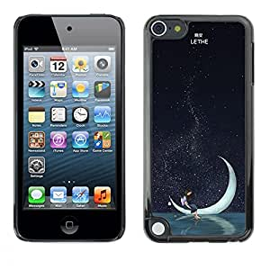 Dragon Case - FOR Apple iPod Touch 5 - good night deer - Caja protectora de pl??stico duro de la cubierta Dise?¡Ào Slim Fit