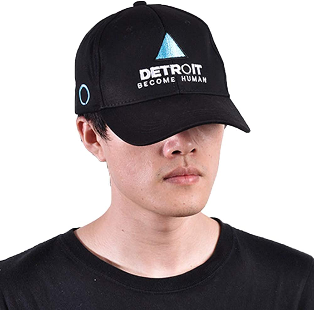 Detroit Become Human Knitted hat Cosplay hat Print Casual Cotton Cap winter cap