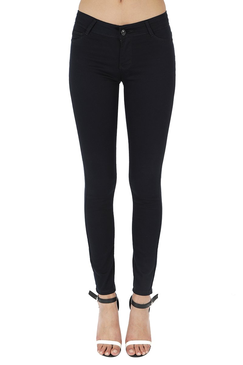 Anymore Jeans? Women's Skinny Color Butt Lift Jeans