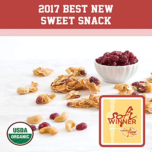 Creative Snacks Naturally Delicious Organic Coconut Snacks with Cranberries and Nuts, 2 Pack, 12 Ounce Resealable Bags by Creative Snacks (Image #3)