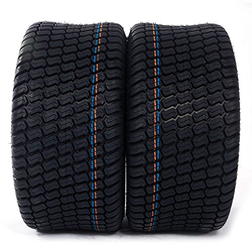 - Set of 2 23x10.50x12 Turf Tires 4 Ply 23x10.50-12 For Lawn Mower Tractor Golf Cart Tires