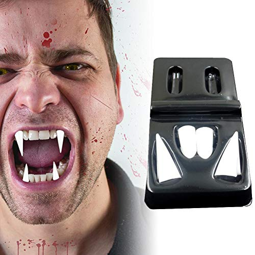 Holloween Vampire Teeth - Fangs Dentures Props Halloween Costume Props Party Favors Holiday DIY Decorations horror adult for kids - 4 -