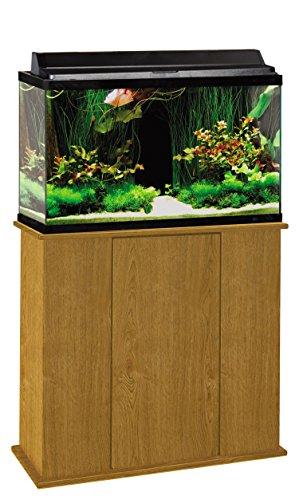 Aquatic Fundamentals 36291-44-AMZ 29 Gallon Upright Aquarium Stand, Solar Oak by Aquatic Fundamentals