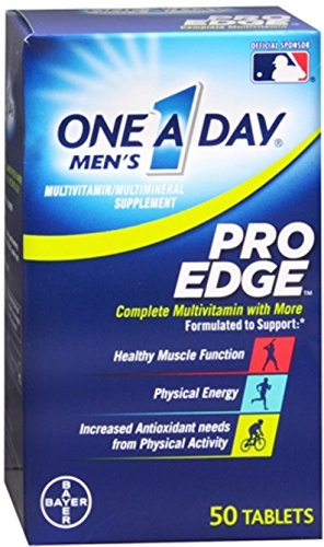 One A Day Mens Proedge Size 50ct