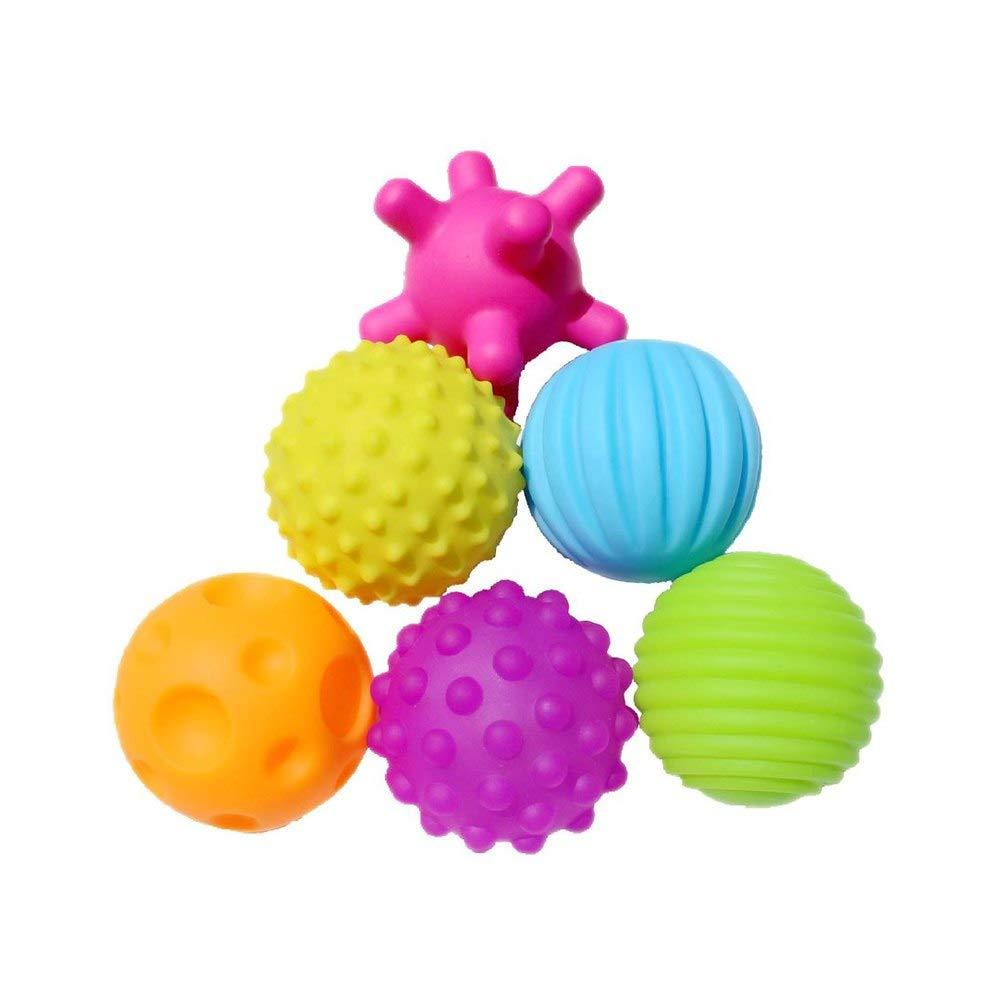 (訳ありセール 格安) GonPi トイボール ベビー - ソフトボール 4/6個 マルチボールセット 赤ちゃんの触覚を育むおもちゃ ベビー タッチハンドボール B07P2YC6H4 おもちゃ ベビー トレーニングボール マッサージ ソフトボール Wj3290b B07P2YC6H4, タチカワマチ:1d2a1aad --- fenixevent.ee
