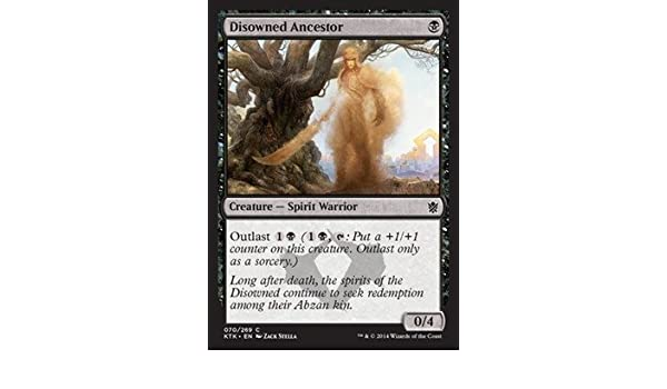 Amazon com: Magic: the Gathering - Disowned Ancestor (70/269