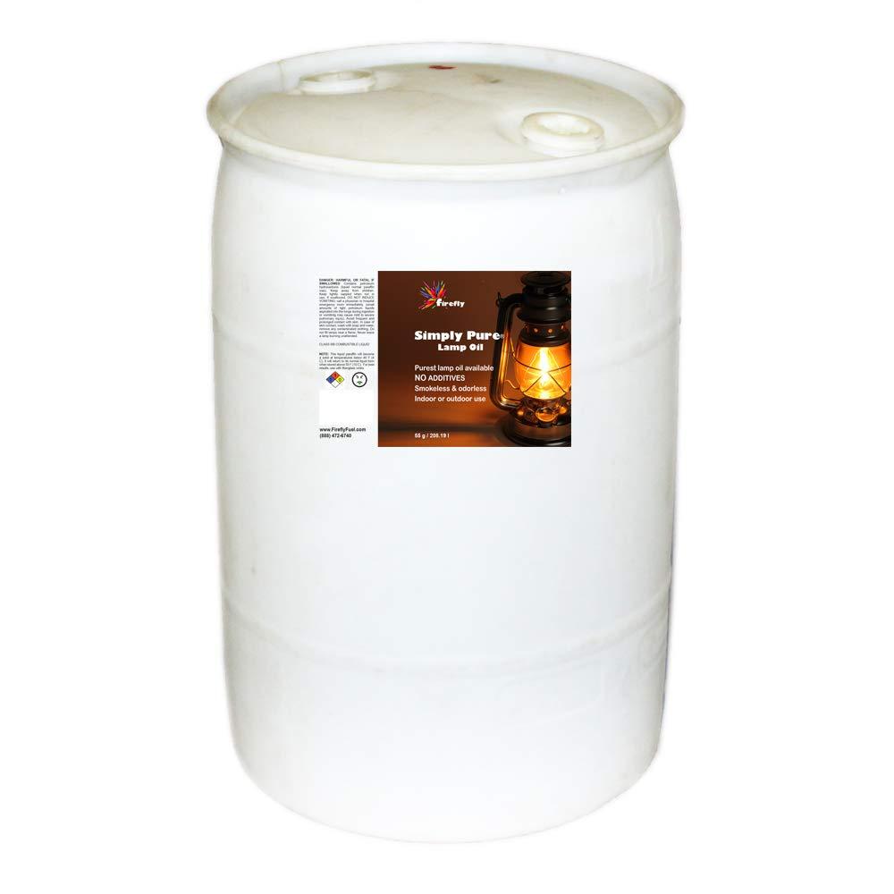 Firefly Bulk Smokeless, Odorless Liquid Paraffin Lamp Oil - Linpar 1416-V - 55-Gallon Drum