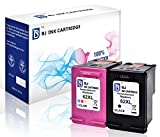 BJ Remanufactured Ink Cartridges for HP 62 XL 62XL for HP Officejet 5740 5742 5744 5745 5746 Officejet 8040 8045 Envy 7640 7645 8000 8005 5640 5642 5643 5644 5646 5660 5665 Printer, Black Color