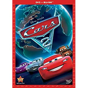 Cars 2 (Two-Disc Blu-ray / DVD Combo in DVD Packaging) (2011)