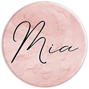Mia Name Custom Name Personalized Name - PopSockets Grip and Stand for Phones and Tablets