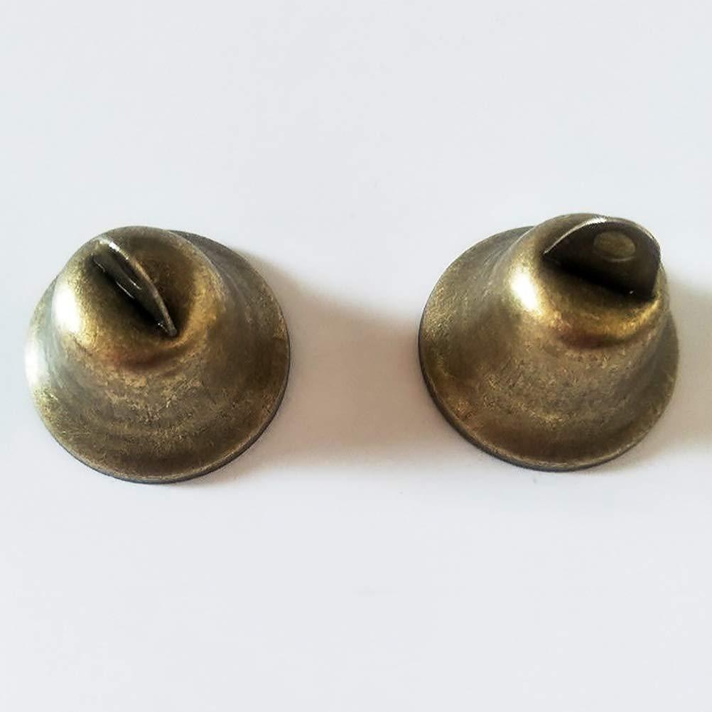SUPVOX Ciondoli Pendenti Campana Campanelle Bronzo Antico Tibetano 38mm per Decorazioni Ornamenti appese 20 Pezzi