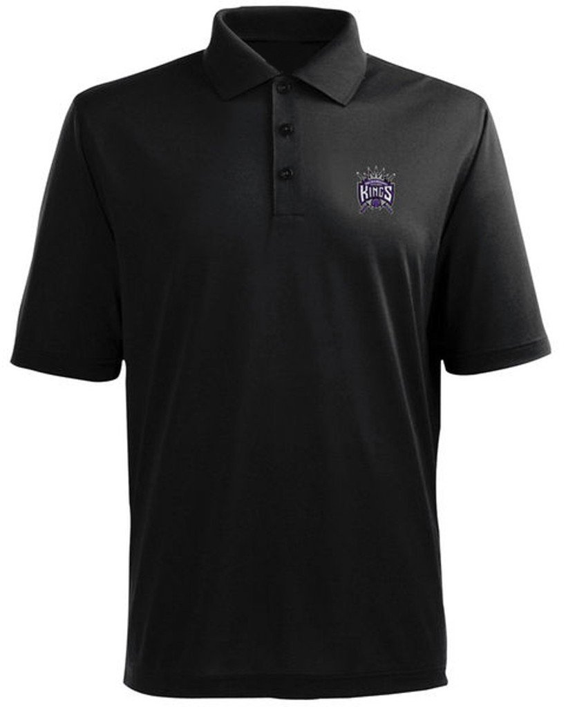 Majestic SACRAMENTO KINGS NBA POLO GOLF SHIRT BIG & TALL SIZES (2XL) by Majestic
