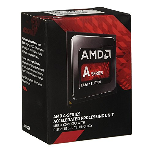 AMD AMD A6-7400K Dual-Core 3.5 GHz Socket FM2+ Desktop Processor Radeon R5 Series (AD740KYBJABOX) by AMD