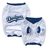 MLB Los Angeles Dodgers Baseball Dog Jersey, XX-Small  - New Design