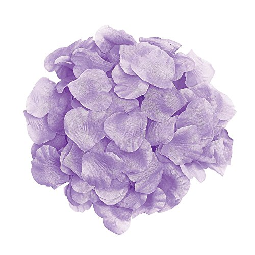 1000pcs Lavender Silk Rose Petals Artificial Flower Wedding Party Vase Decor Bridal Shower Favor Centerpieces Confetti Lavender Flower Petals