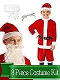 Santa Suit Classic Child Unisex Complete Costume Kit