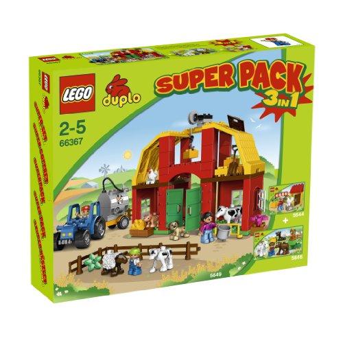 LEGO Duplo 66367 - Super Pack 3 in 1 Bauernhof