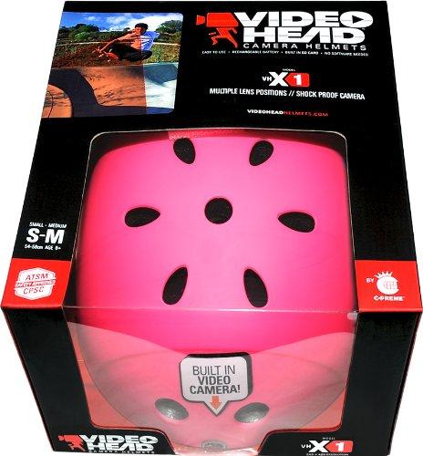 Amazon.com: Videohead Krash X1 construido en cámara casco ...