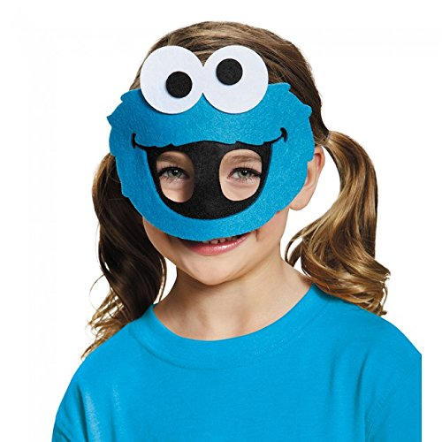 Disguise Costumes Cookie Monster Felt Mask, Toddler