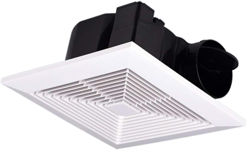 JJZXT Potente Ventilador silencioso de Escape, Humedad Ventilador de ventilación, Extractor for baño y Home