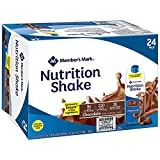 Member's Mark Nutritional Shake, Chocolate (8 oz, 24 ct.)- 2 Packs