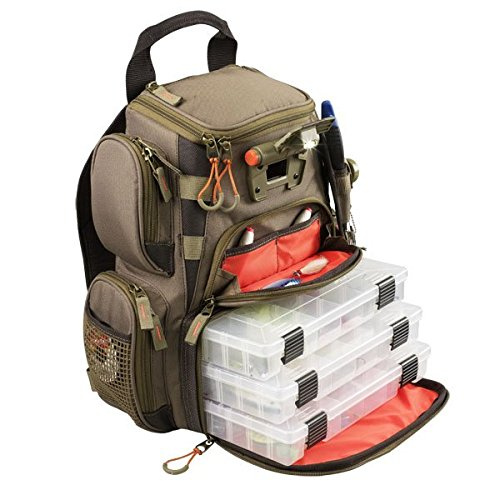 084298636042 - Wild River Tackle Tek Nomad Mossy Oak Camo LED Lighted Backpack, Fishing Bag, Hunting Backpack carousel main 2