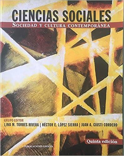 Ciencias sociales : Sociedad y cultura contemporánea /