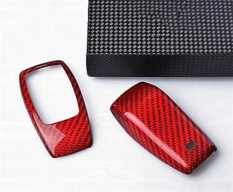 Max Carbon Rot Carbon Look Gfk Schlüssel Gehäuse Etui Passend Für A Klasse B Klasse C Klasse Cla E Klasse S Klasse Gle Glc Klasse G Klasse Glb Auto